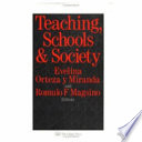 Teaching  Schools  and Society