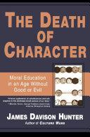 The Death of Character Pdf/ePub eBook