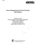 Event Management and Event Tourism