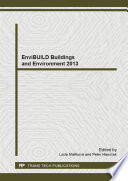 Envibuild Buildings And Environment 2013 Book PDF