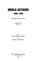 World Authors, 1900-1950