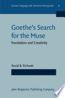 Goethe s Search for the Muse