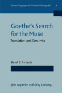 Goethe's Search for the Muse