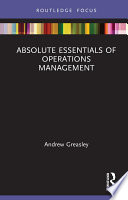 Absolute Essentials of Operations Management
