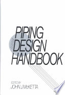 Piping Design Handbook Book PDF