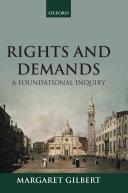 Rights and Demands Pdf/ePub eBook