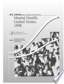 Mental Health  United States  1998