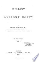 History of Ancient Egypt Book PDF