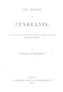 The History of Pendennis     With illustrations on wood by the author