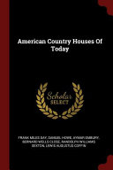 American Country Houses of Today