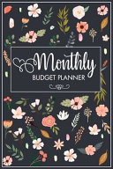 Monthly Budget Planner Book