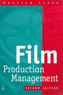 Film Production Management Book