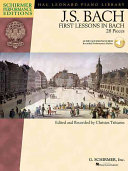 First lessons in Bach Book