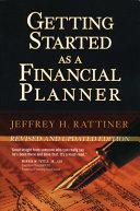 Getting Started as a Financial Planner Pdf/ePub eBook
