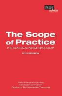 The Scope of Practice for Academic Nurse Educators Book