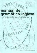 Manual de gram  tica inglesa