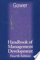 Gower Handbook of Management Development