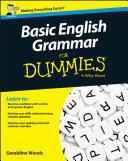 Basic English Grammar For Dummies - UK