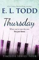 Thursday (Timeless Series #4) Pdf/ePub eBook