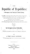 The Republic of Republics