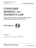 Consumer Banking and Payments Law
