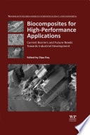 Biocomposites for High Performance Applications