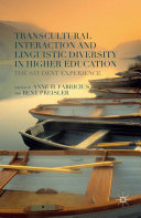 Transcultural Interaction and Linguistic Diversity in Higher Education Pdf/ePub eBook