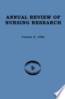 Annual Review Of Nursing Research Volume 8 1990