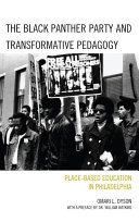 The Black Panther Party and Transformative Pedagogy Pdf/ePub eBook