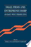 Small Firms and Entrepreneurship