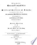 Dritte Section O - Z ; Panvinius - Parczenzew