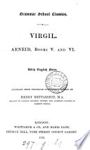 Virgil  Aeneid  books v  and vi  With Engl  notes  abridged from prof  Conington s ed  by H  Nettleship