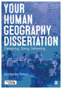 Your Human Geography Dissertation