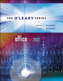 O Leary Series  Microsoft Office 2003 Volume I