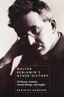 Pdf Walter Benjamin's Other History