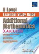 e O Level Essential Study Guide Additional Mathematics  Calculus