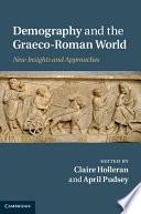 Demography And The Graeco Roman World