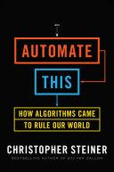 Automate This Pdf/ePub eBook