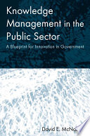 Knowledge Management in the Public Sector