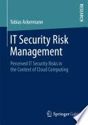 It Security Risk Management Book PDF