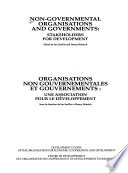Non-governmental organisations and governments