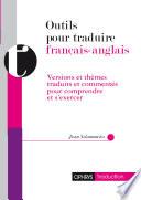 Outils pour traduire  fran  ais anglais