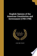 ENGLISH OPINION OF THE AMER CO