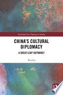 China s Cultural Diplomacy Book