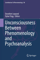 Pdf Unconsciousness Between Phenomenology and Psychoanalysis Telecharger