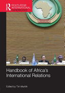 Handbook of Africa's International Relations