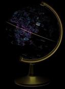 Dino's World Globe