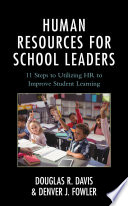 Human Resources for School Leaders Book