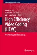 Pdf High Efficiency Video Coding (HEVC) Telecharger