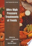 Ultra High Pressure Treatment of Foods